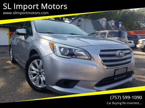 2016 Subaru Legacy for sale at SL Import Motors in Newport News VA