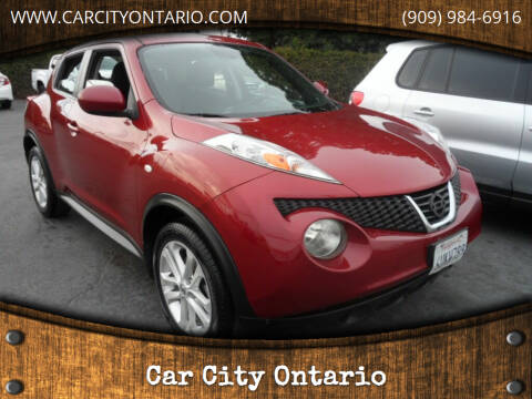 2012 Nissan JUKE for sale at Car City Ontario in Ontario CA