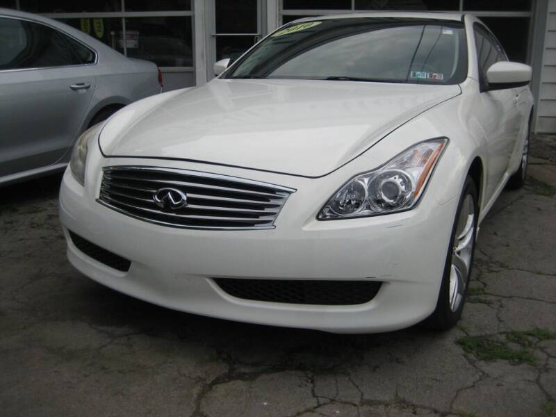 2010 Infiniti G37 Coupe for sale at B. Fields Motors, INC in Pittsburgh PA