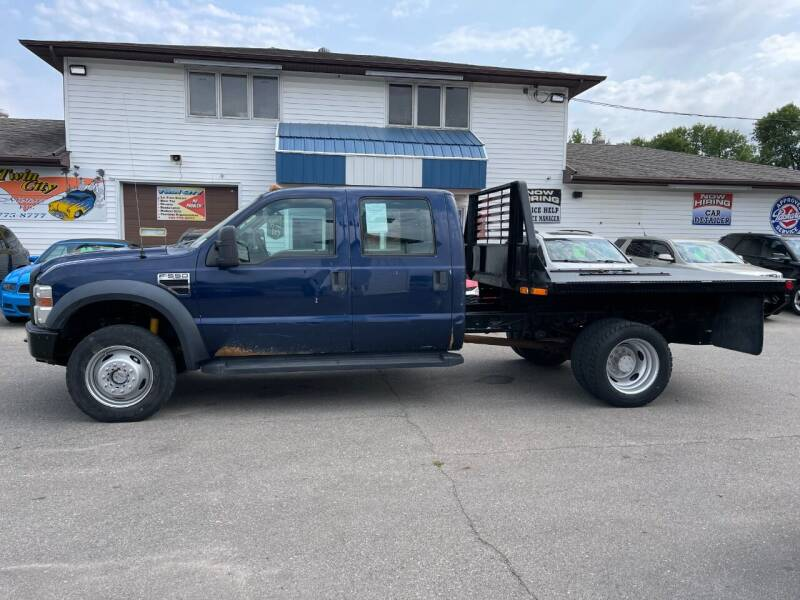 2009 Ford F-550 Super Duty for sale at Twin City Motors in Grand Forks ND
