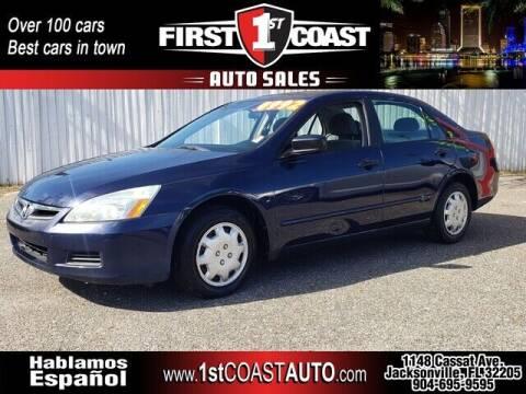 2006 Honda Accord for sale at 1st Coast Auto -Cassat Avenue in Jacksonville FL