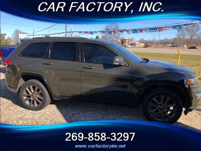 2016 Jeep Grand Cherokee for sale at Car Factory Inc. in Three Rivers MI