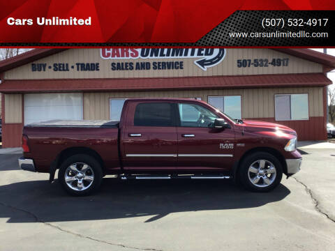 2016 RAM Ram Pickup 1500 for sale at Cars Unlimited in Marshall MN