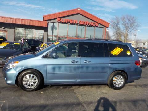 2010 Honda Odyssey for sale at Super Service Used Cars in Milwaukee WI