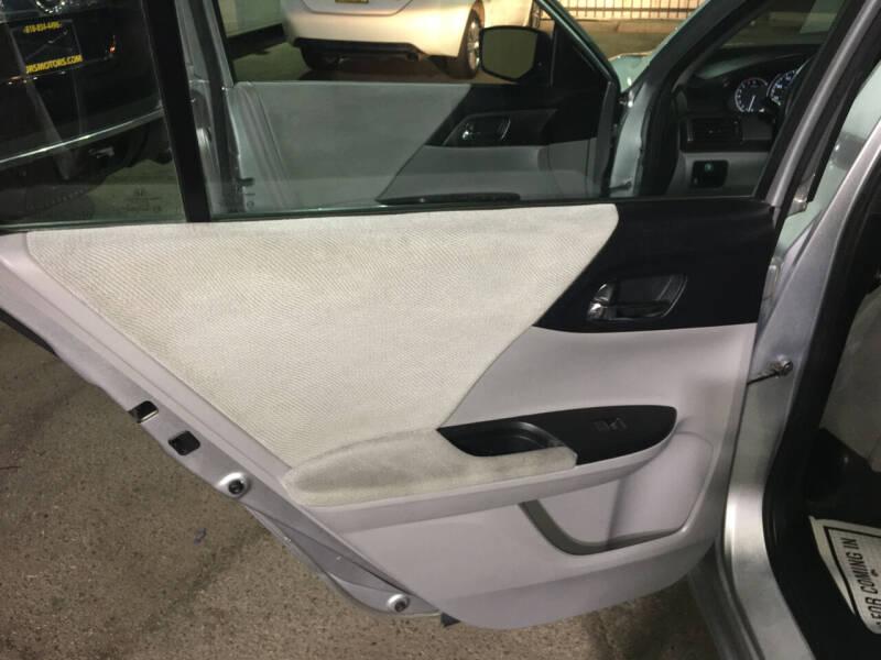 2013 Honda Accord LX 4dr Sedan CVT - Pacoima CA