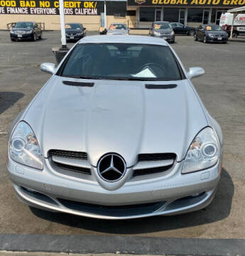 2005 Mercedes-Benz SLK for sale at Global Auto Group in Fontana CA