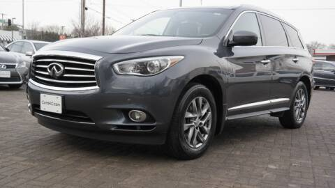 2013 Infiniti JX35 for sale at Cars-KC LLC in Overland Park KS