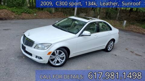 2009 Mercedes-Benz C-Class for sale at Wheeler Dealer Inc. in Acton MA