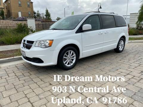 2014 Dodge Grand Caravan for sale at IE Dream Motors-Upland in Upland CA