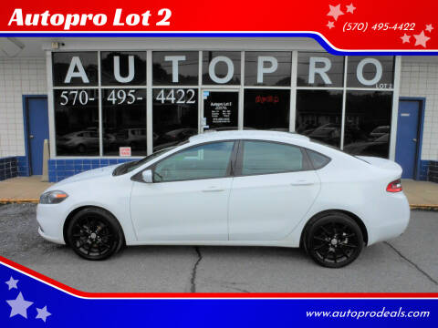 2013 Dodge Dart for sale at Autopro Lot 2 in Sunbury PA