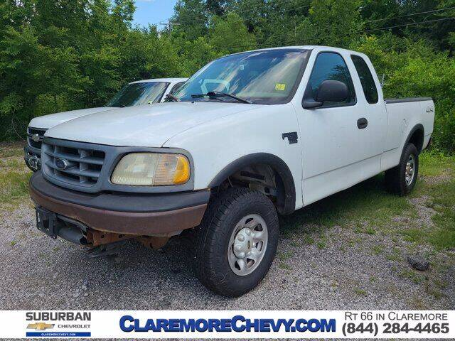 2001 Ford F-150 for sale at Suburban Chevrolet in Claremore OK