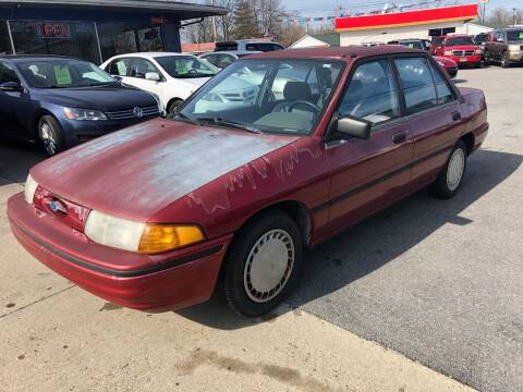 1993 Ford Escort for sale at Wise Investments Auto Sales in Sellersburg IN