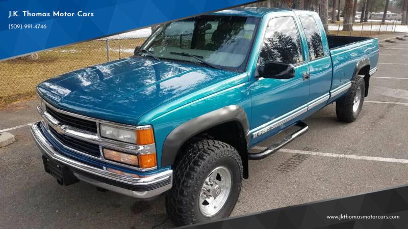 1998 Chevrolet C/K 2500 Series for sale at J.K. Thomas Motor Cars in Spokane Valley WA