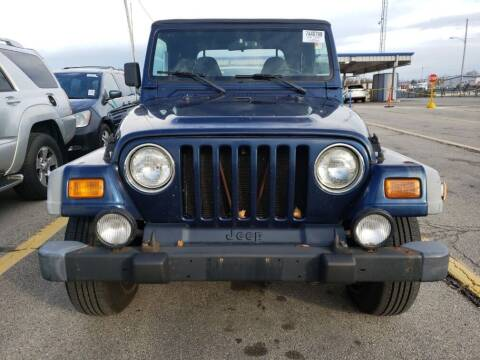 2002 Jeep Wrangler for sale at NORTH CHICAGO MOTORS INC in North Chicago IL
