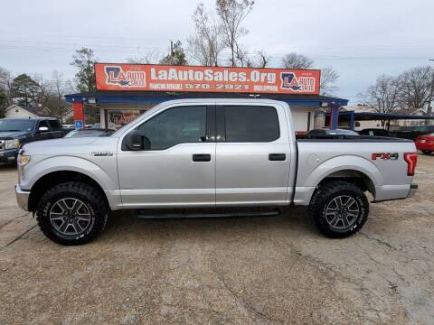 2016 Ford F-150 for sale at LA Auto Sales in Monroe LA