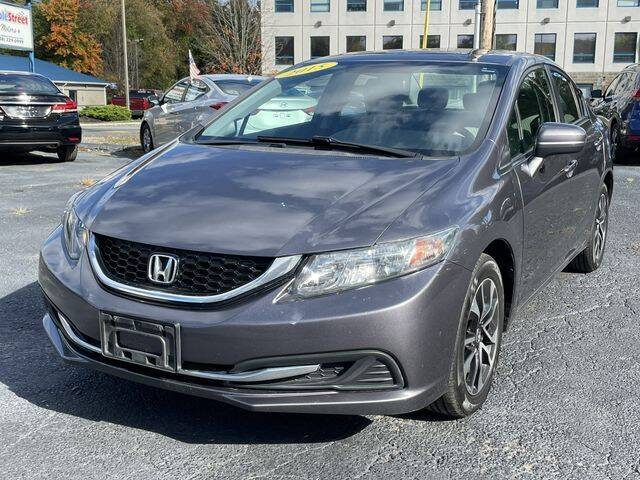 2015 Honda Civic for sale at All Star Auto  Cycle in Marlborough MA