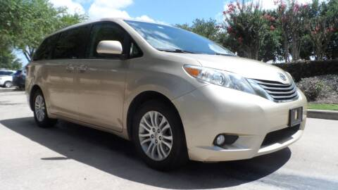 2011 Toyota Sienna for sale at Exhibit Sport Motors in Houston TX