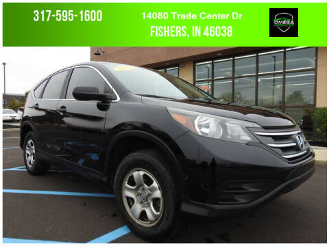 2014 Honda CR-V for sale at Omega Autosports of Fishers in Fishers IN
