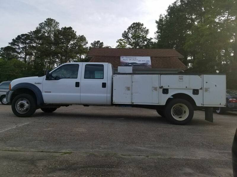 2006 Ford F-450 Super Duty for sale at St. Tammany Auto Brokers in Slidell LA