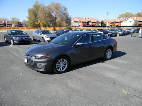 2018 Chevrolet Malibu for sale at INVICTUS MOTOR COMPANY in West Valley City UT