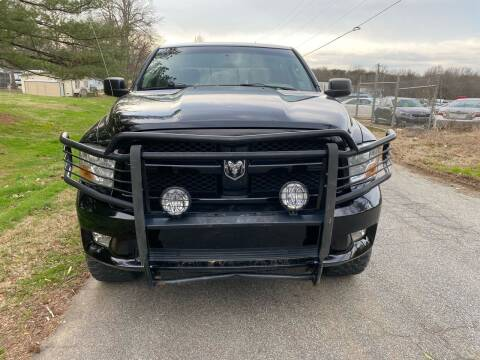 2012 RAM Ram Pickup 1500 for sale at Speed Auto Mall in Greensboro NC