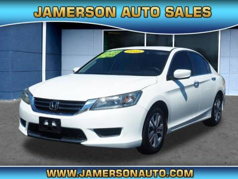 2013 Honda Accord for sale at Jamerson Auto Sales in Anderson IN