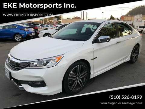 2017 Honda Accord for sale at EKE Motorsports Inc. in El Cerrito CA