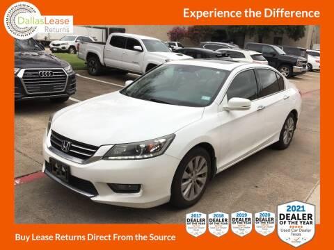 2015 Honda Accord for sale at Dallas Auto Finance in Dallas TX