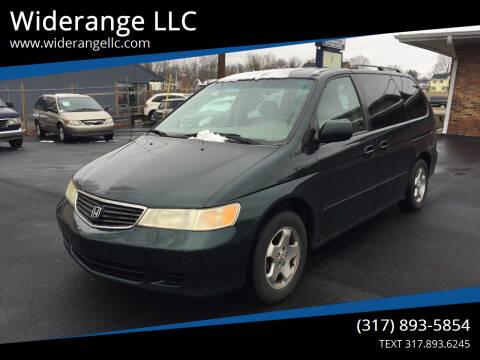 2001 Honda Odyssey for sale at Widerange LLC in Greenwood IN
