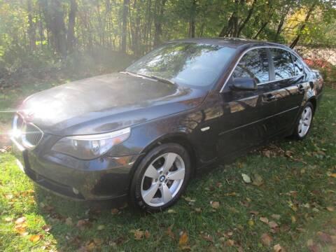 2007 BMW 5 Series for sale at Peekskill Auto Sales Inc in Peekskill NY