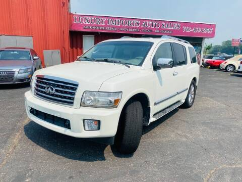 2010 Infiniti QX56 for sale at LUXURY IMPORTS AUTO SALES INC in North Branch MN