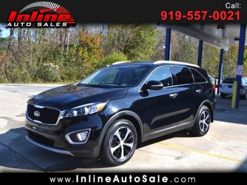 2016 Kia Sorento for sale at Inline Auto Sales in Fuquay Varina NC