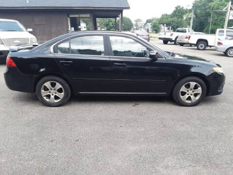 2009 Kia Optima for sale at Riverview Auto's, LLC in Manchester OH