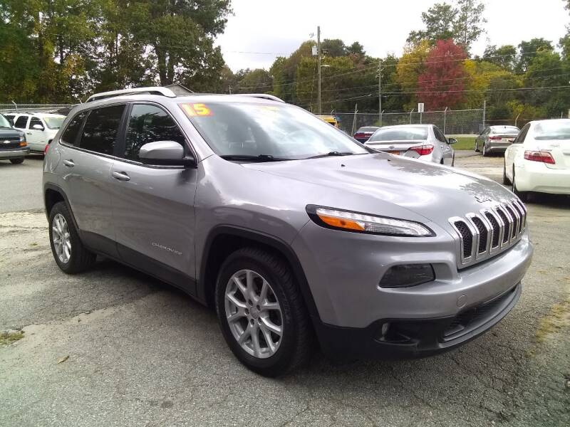 2015 Jeep Cherokee for sale at Import Plus Auto Sales in Norcross GA