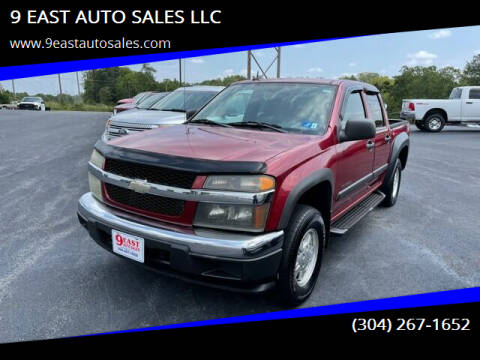 2005 Chevrolet Colorado for sale at 9 EAST AUTO SALES LLC in Martinsburg WV
