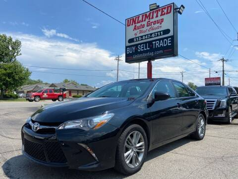 2017 Toyota Camry for sale at Unlimited Auto Group in West Chester OH