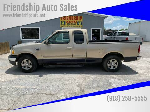 2000 Ford F-150 for sale at Friendship Auto Sales in Broken Arrow OK