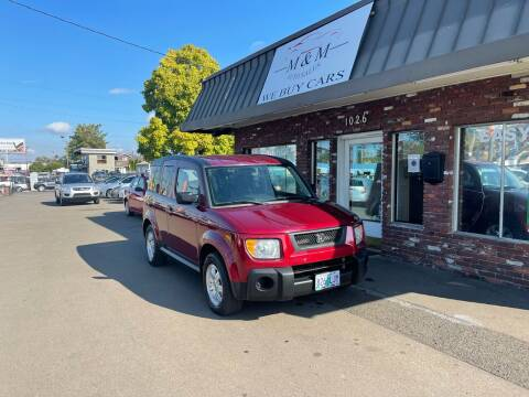 2006 Honda Element for sale at M&M Auto Sales in Portland OR