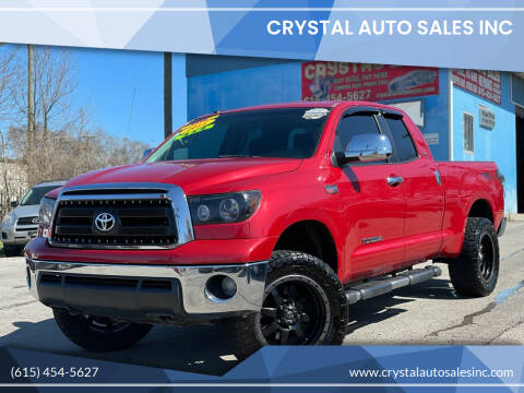 2011 Toyota Tundra for sale at Crystal Auto Sales Inc in Nashville TN