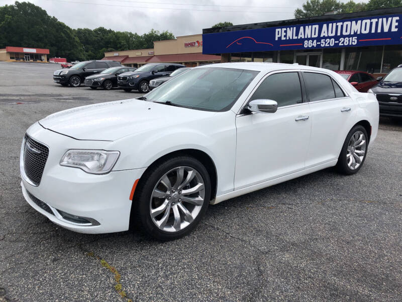 2018 Chrysler 300 for sale at Penland Automotive Group in Laurens SC