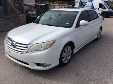 2012 Toyota Avalon for sale at OASIS PARK & SELL in Spring TX