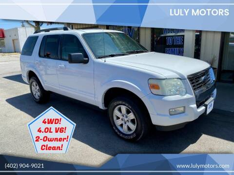 2008 Ford Explorer for sale at Luly Motors in Lincoln NE