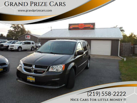 2016 Dodge Grand Caravan for sale at Grand Prize Cars in Cedar Lake IN