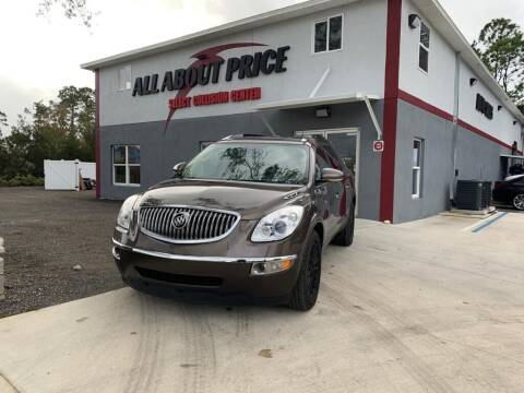 2009 Buick Enclave for sale at All About Price in Bunnell FL