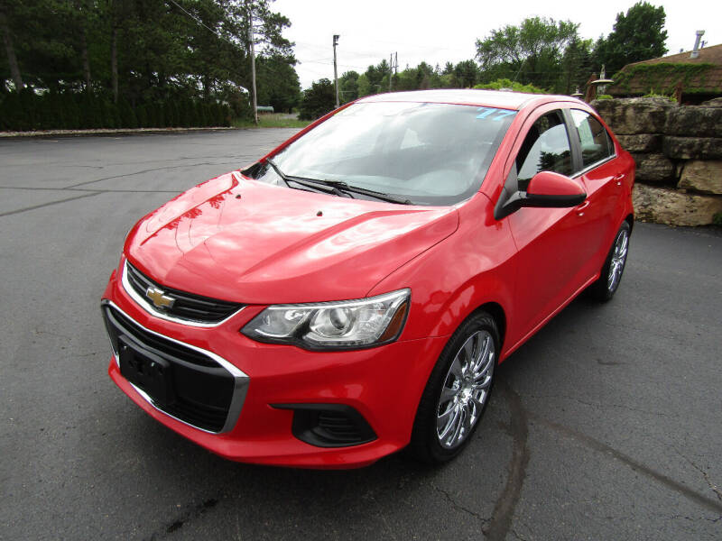 2017 Chevrolet Sonic for sale at Mike Federwitz Autosports, Inc. in Wisconsin Rapids WI