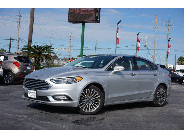 2018 Ford Fusion for sale at Maroney Auto Sales in Humble TX