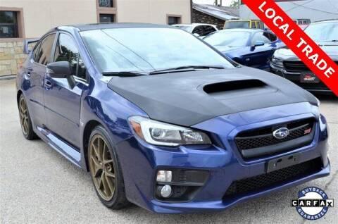 2016 Subaru WRX for sale at LAKESIDE MOTORS, INC. in Sachse TX