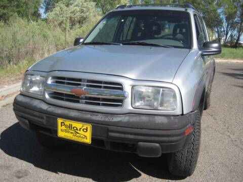 2004 Chevrolet Tracker for sale at Pollard Brothers Motors in Montrose CO