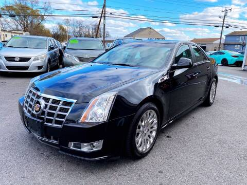 2012 Cadillac CTS for sale at Dijie Auto Sale and Service Co. in Johnston RI