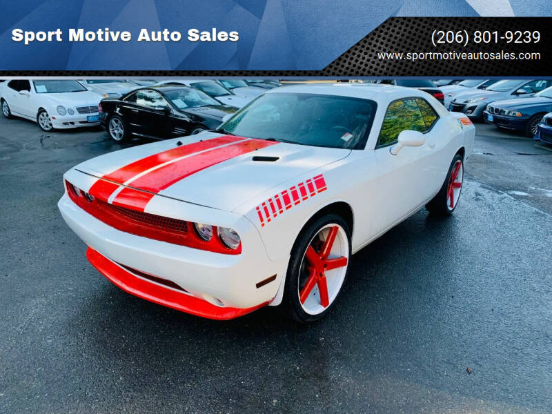 2012 Dodge Challenger for sale at Sport Motive Auto Sales in Seattle WA